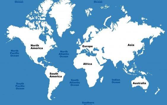 Ile oceanów jest na świecie?