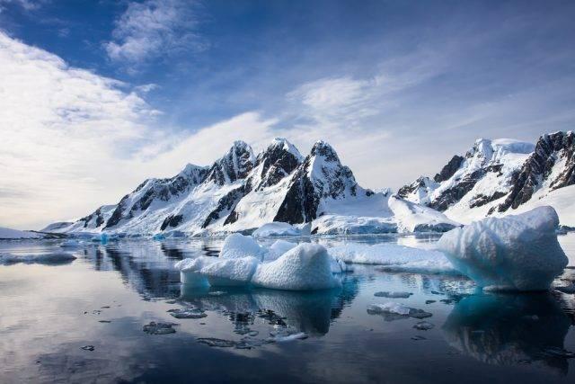 góry Antarktyda