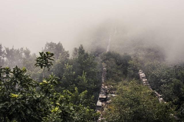 wielki mur chiński nie odnowiony