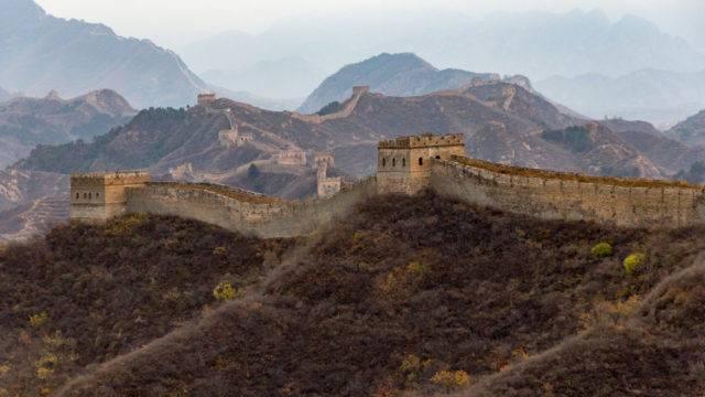 wielki mur chiński i jego zasięg