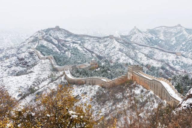 cud świata mur chiński