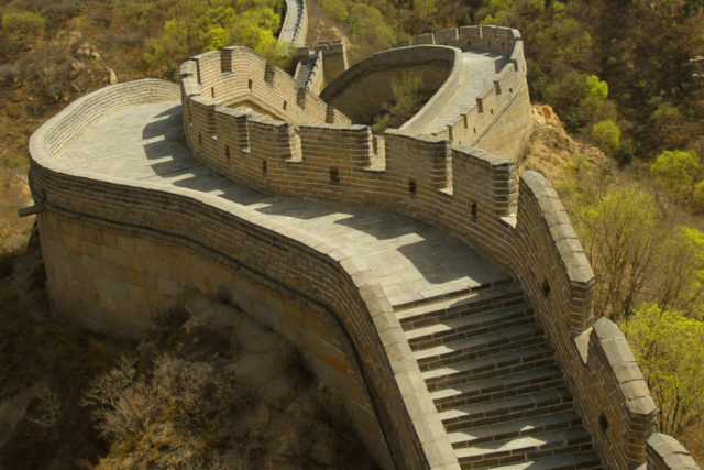 nowe siedem cudów świata mur chiński
