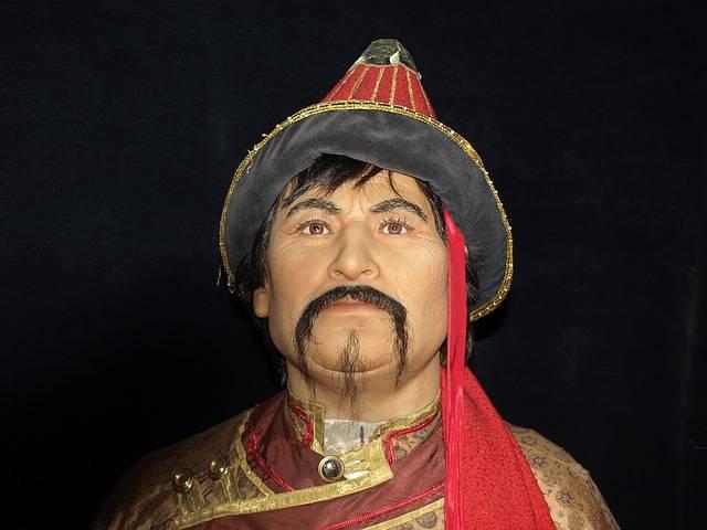 władca mongolski Czyngis chan