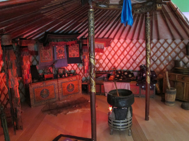 namiot Czyngis chana