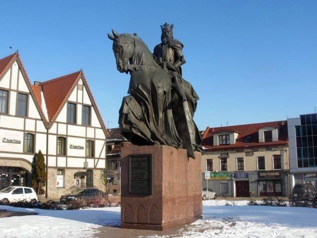 Pomnik króla Kazimierza Wielkiego w Bydgoszczy