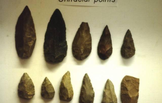 narzędzia prehistoryczne