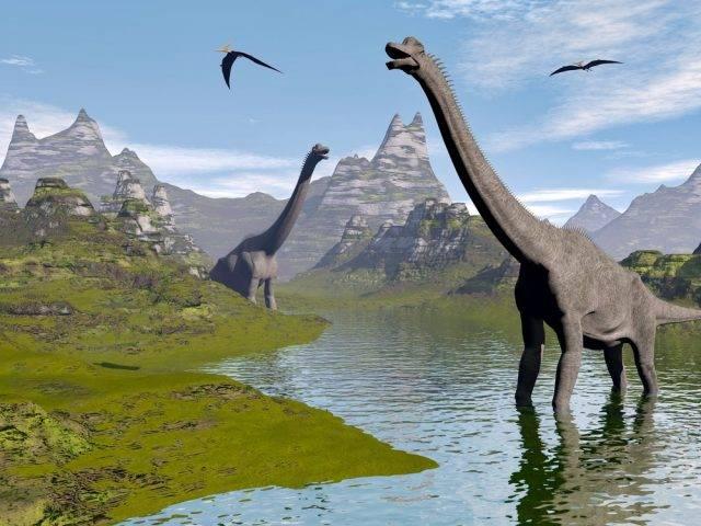 dinozaur Brachiozaur