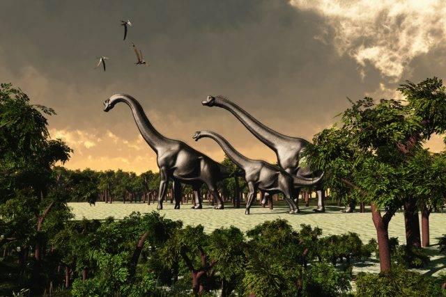 wymarłe dinozaury