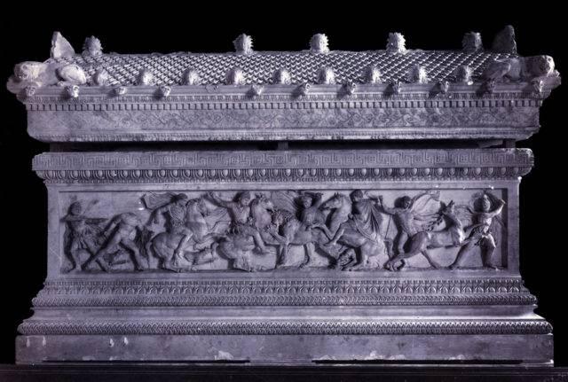 grobowiec aleksandra macedońskiego Konstantynopol