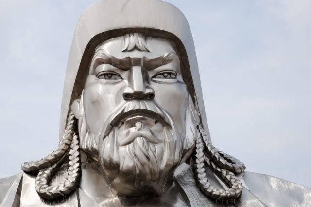 mongolscy wielcy chnowie Czingis-chan