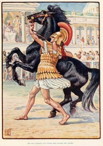 koń bucefał