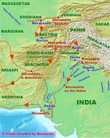 Inwazja Aleksandra na subkontynent indyjski