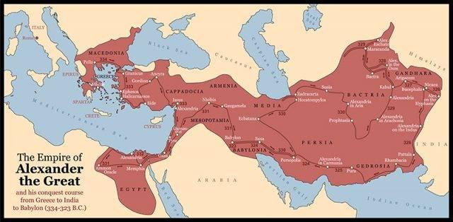 aleksander macedoński i jego podbój , imperium 334-323 B.C.