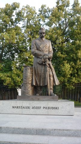 Pomnik marszałek Józef Piłsudski