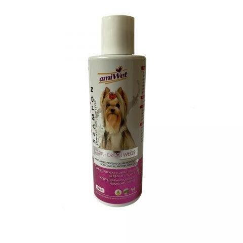 amiwet szampon dla psów rasy yorkshire terrier