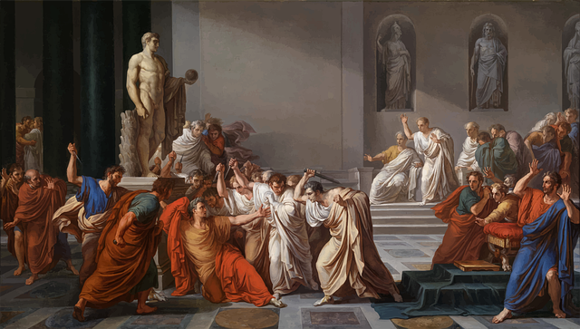 śmierć Juliusza Cezara